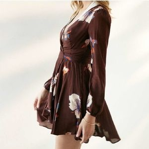 Urban Outfitters Floral Wrap Dress